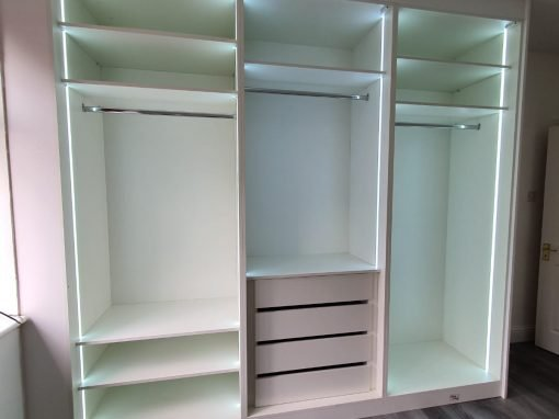 Hinged Fitted Wardrobes – Stanmore