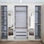 hinged wardrobe