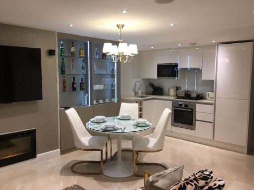 Fitted Handleless Kitchen Holland Park –Westminster London