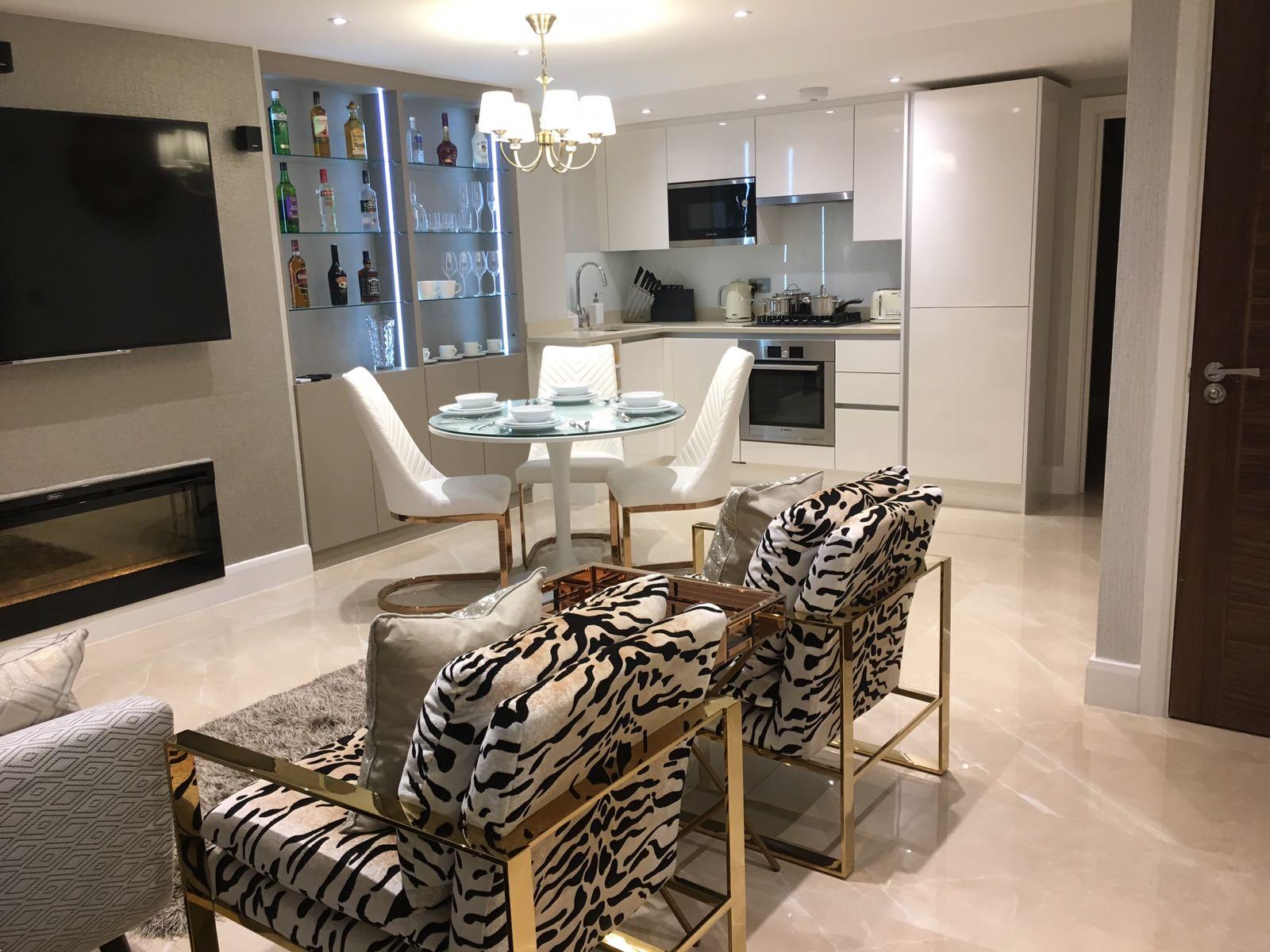 4a london kitchen lounge bar Design