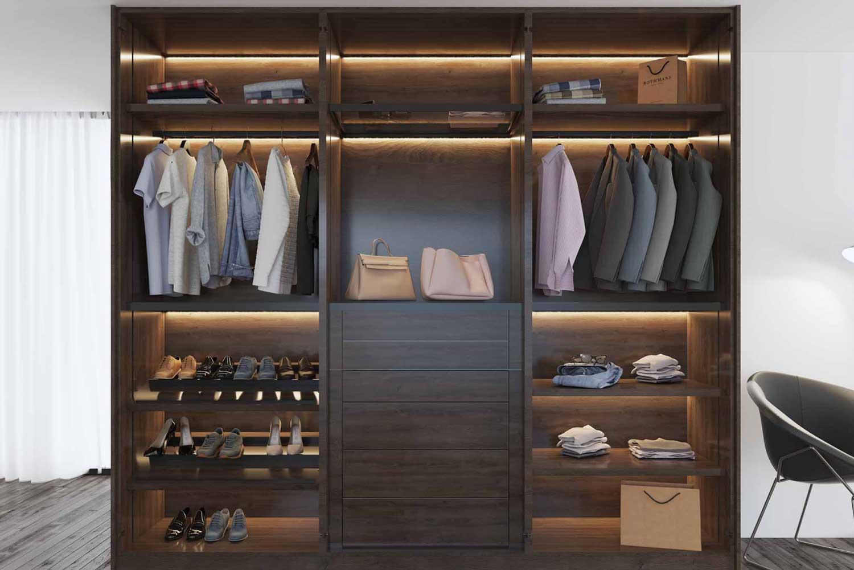 Walk-in Wardrobe  Luxury Walk in Wardrobe Design Ideas