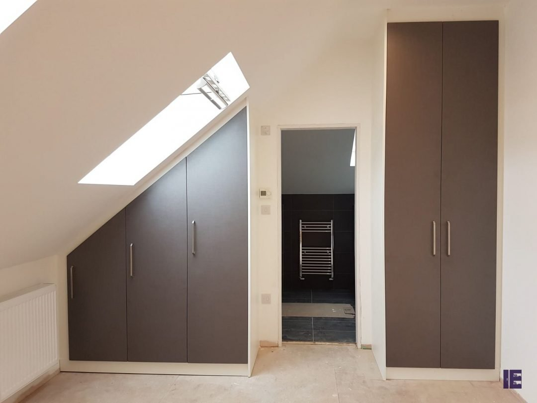 Loft+Hinged wardrobe