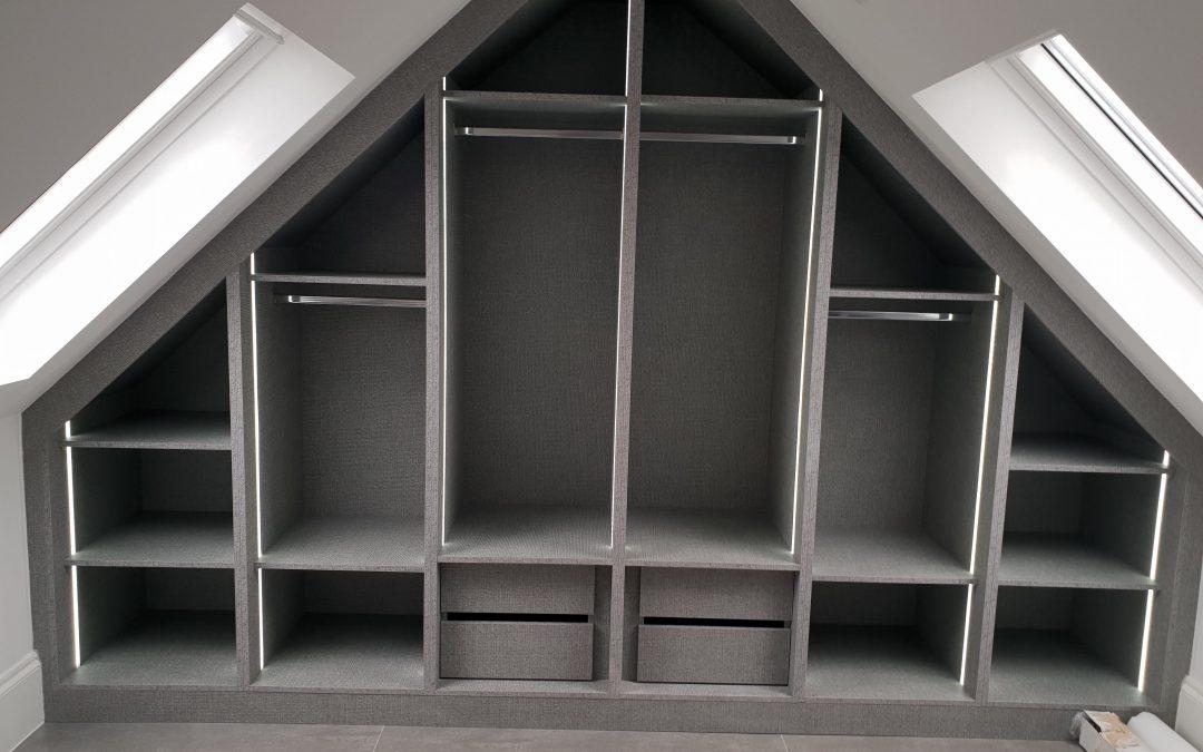 Loft fitted wardrobe Wembley – Brent
