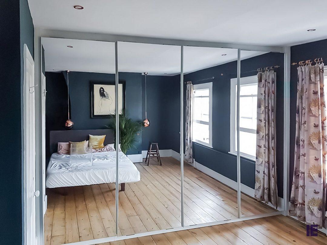 Full Mirror Sliding Wardrobe Kentish Town - Camden
