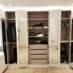 White High Gloss Wardrobe Led Hammersmith and Fulham