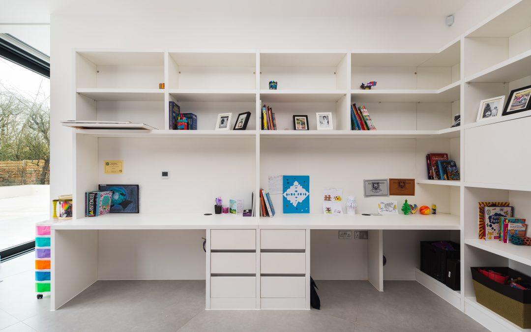 Bespoke Bookshelves and Home Office Furniture Rickmansworth London