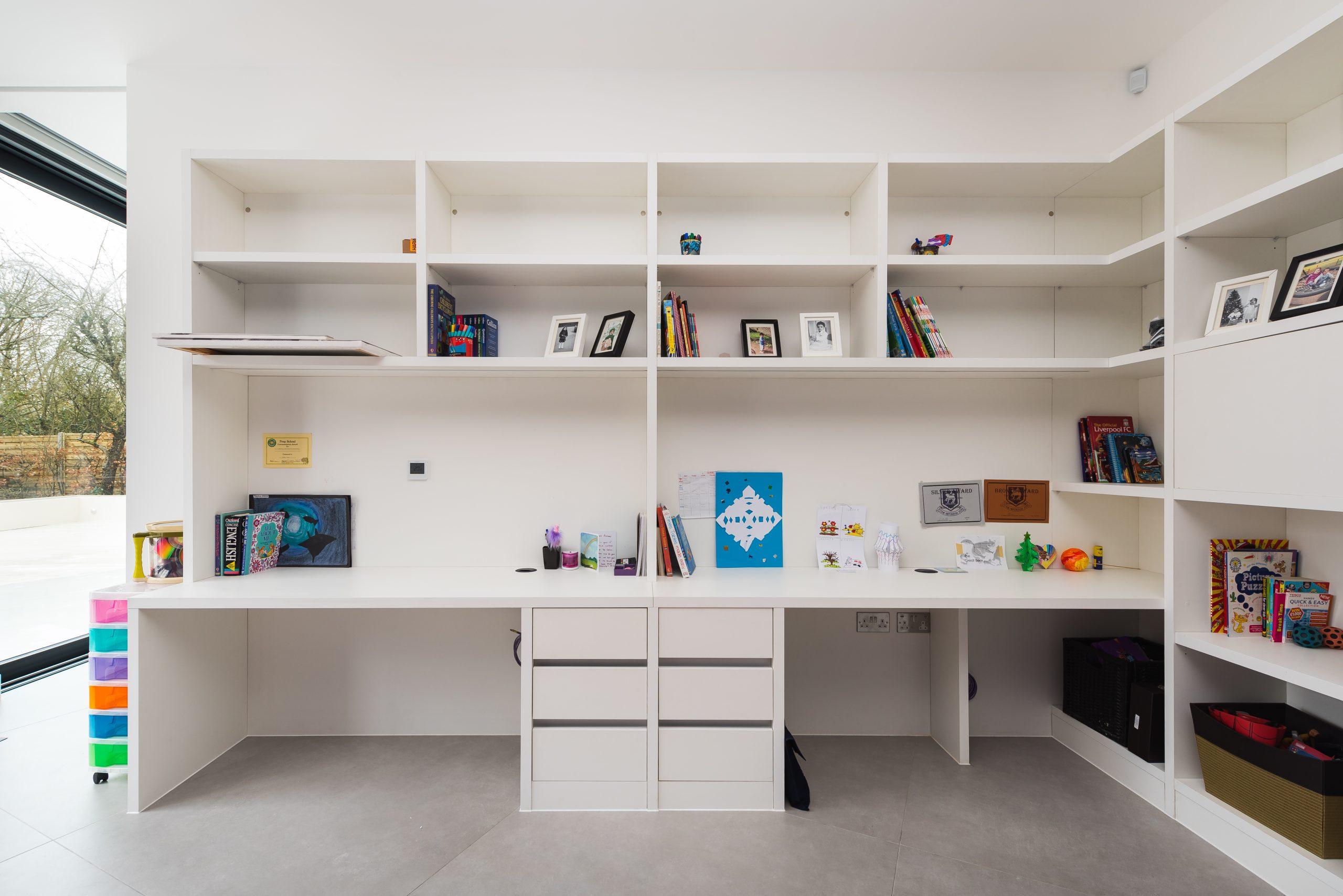 bespoke bookshelves furniture Westbury road,