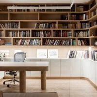 Office Area With Shelving