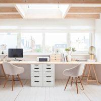 Small Modern Home Study area