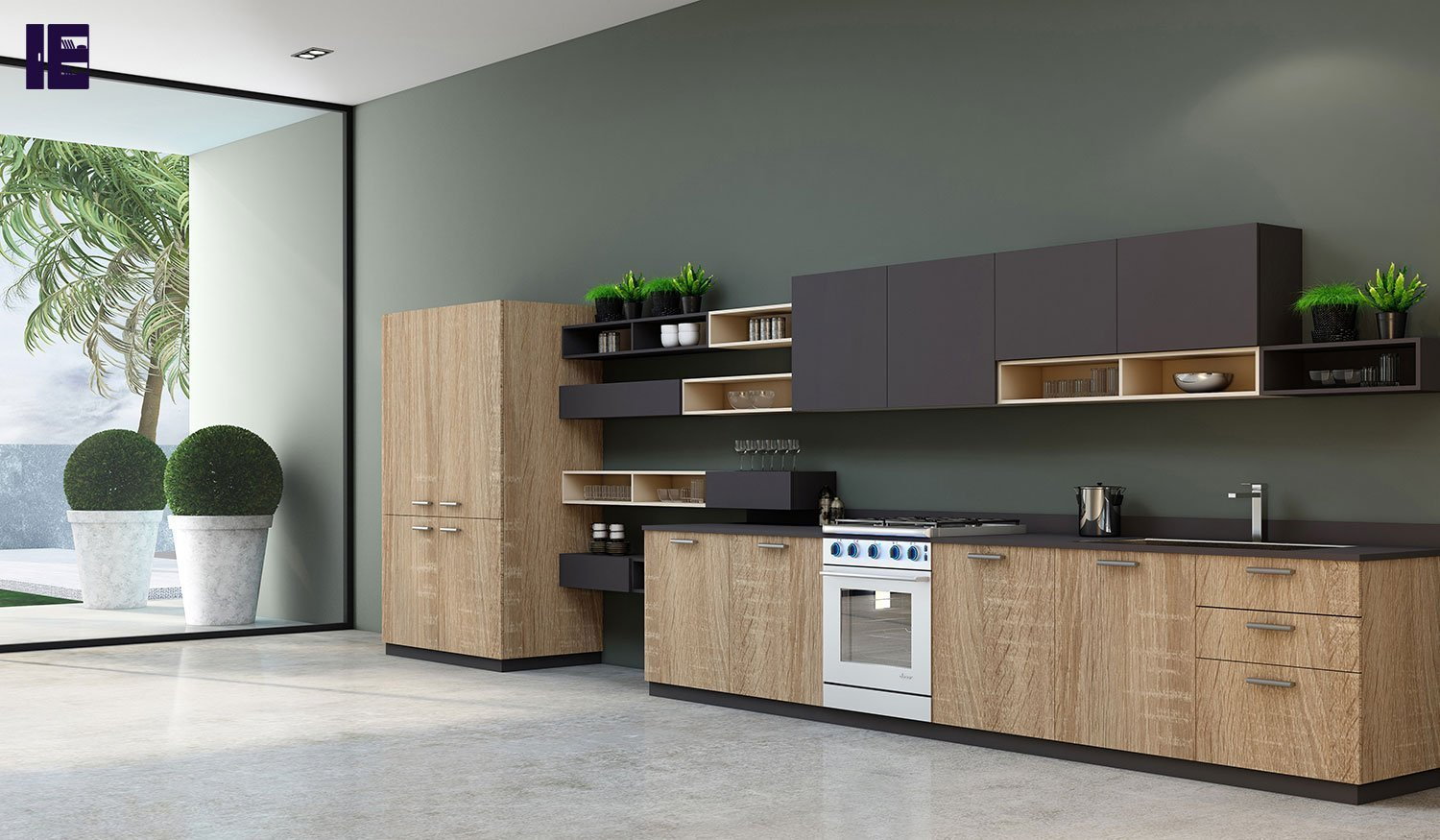 handles easyline kitchen london