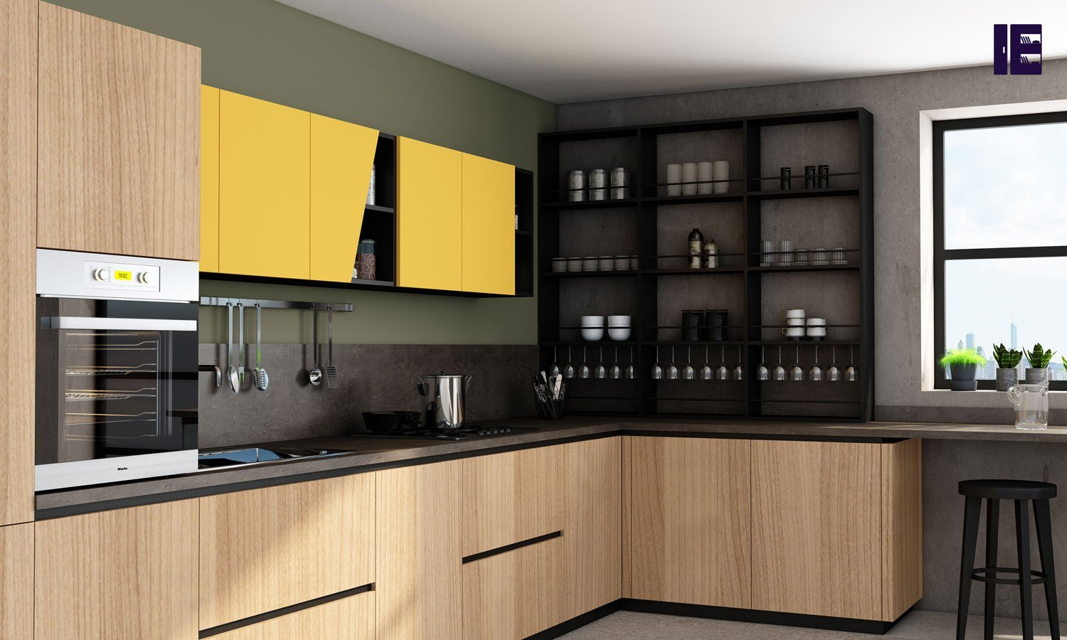Handleless premiumline kitchen