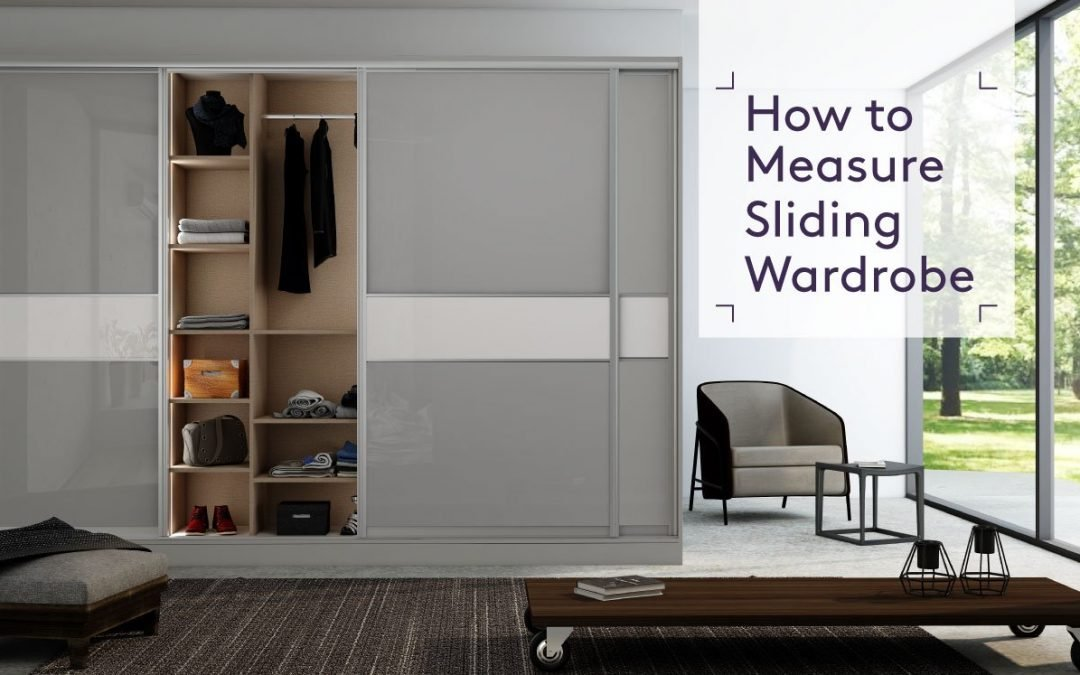 How to measure Sliding wardrobes