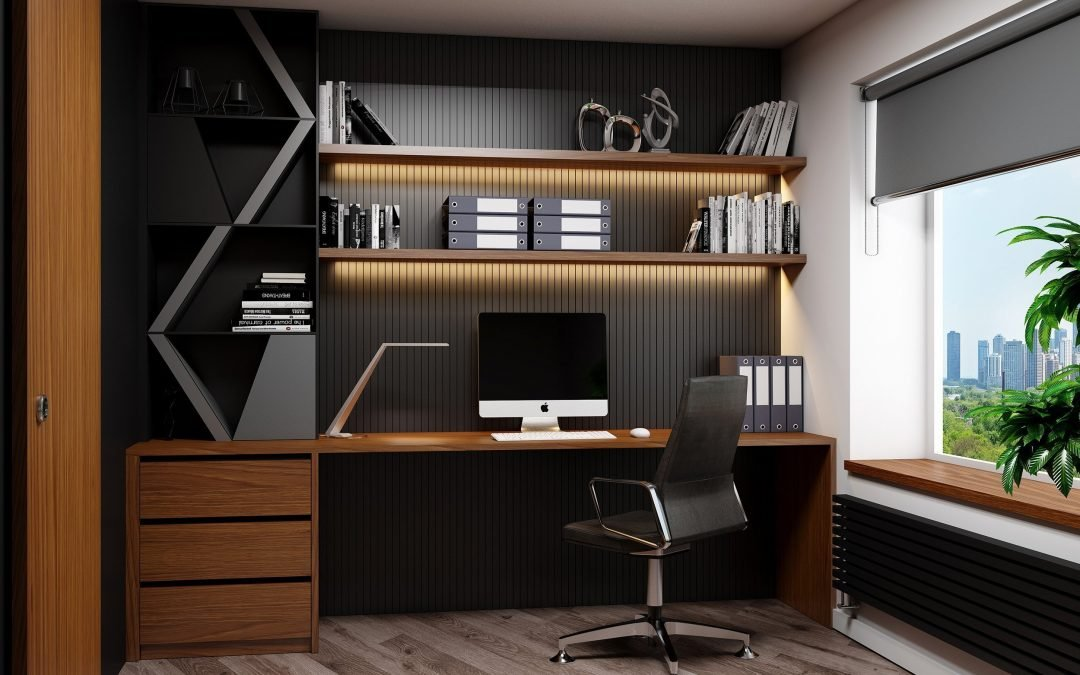 Office Room With Study Furniture