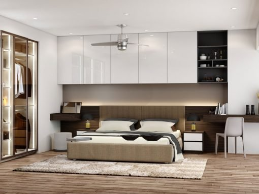 Fitted Bedrooms with Different Designs