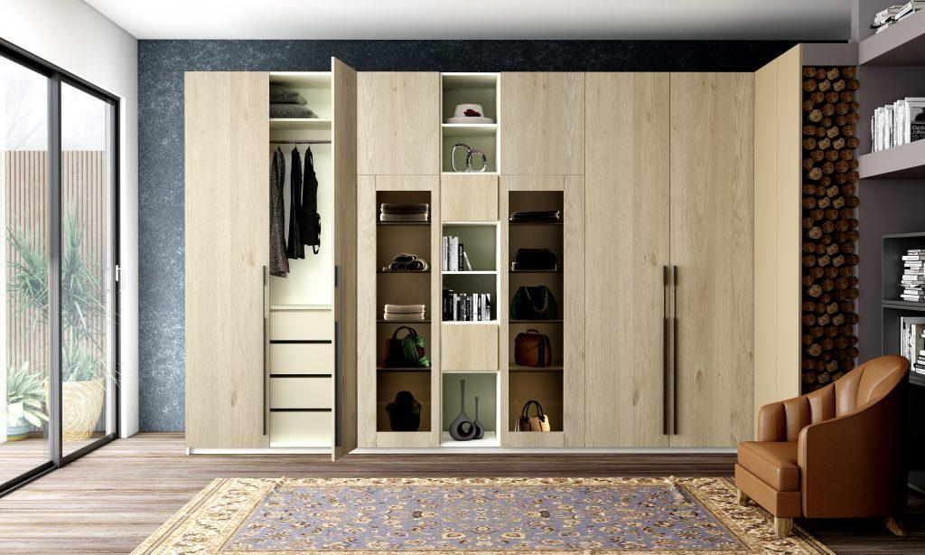 Hinged Door Wardrobes Storage Solution