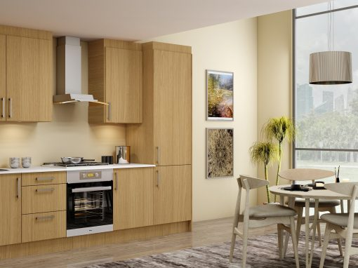 Small Kitchens With Multi Colour Finish