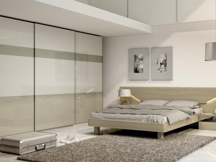 https://www.inspiredelements.co.uk/wp-content/uploads/2021/04/Fitted-frameless-sliding-wardrobe-with-top-hung-doors-in-Light-grey-high-gloss-and-Khaki-grey-acrylic-gloss-finish-1-700x524.jpg