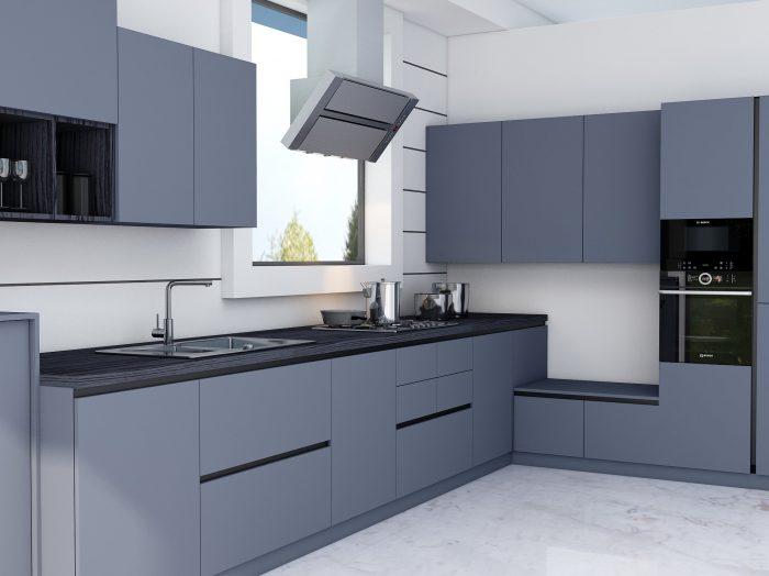 https://www.inspiredelements.co.uk/wp-content/uploads/2021/04/Handleless-Kitchen-in-smoke-blue-finish-wit-black-handlless-profile-1-700x524.jpg