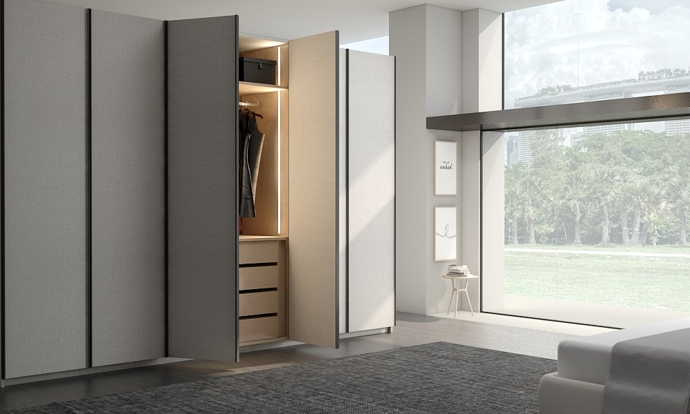 Linear Wood Thin Long Profile Handles
