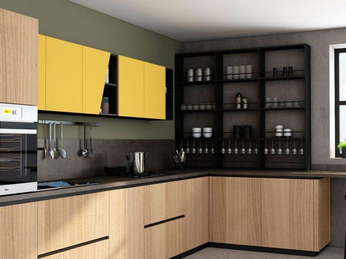 https://www.inspiredelements.co.uk/wp-content/uploads/2021/04/Premiumline-kitchen-with-black-handleless-profile-in-Sand-Orleans-Oak-wood-grain-and-sunshine-matt-finish-1-700x524.jpg