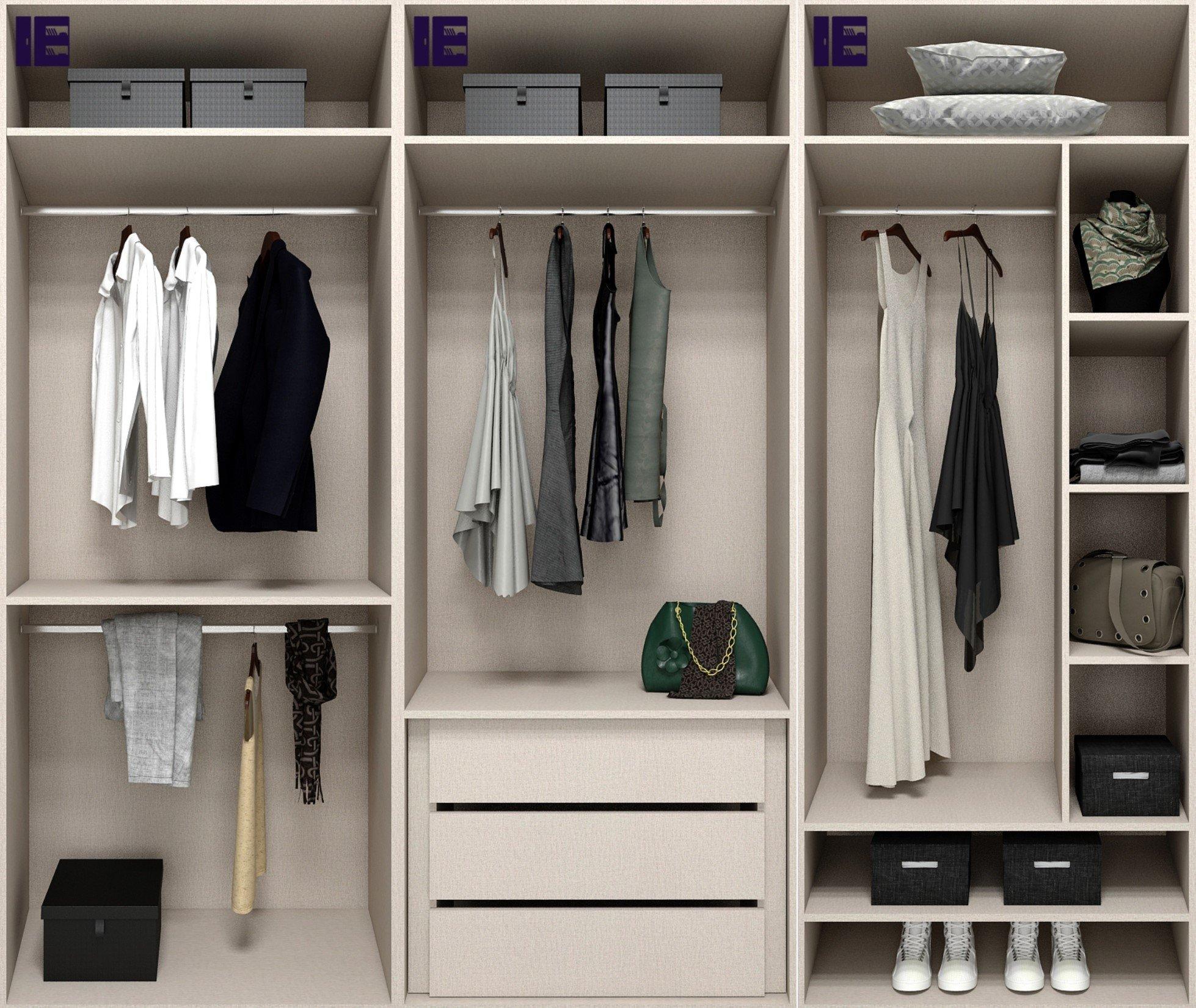 Internal Wardrobe Storage Accessories 3m