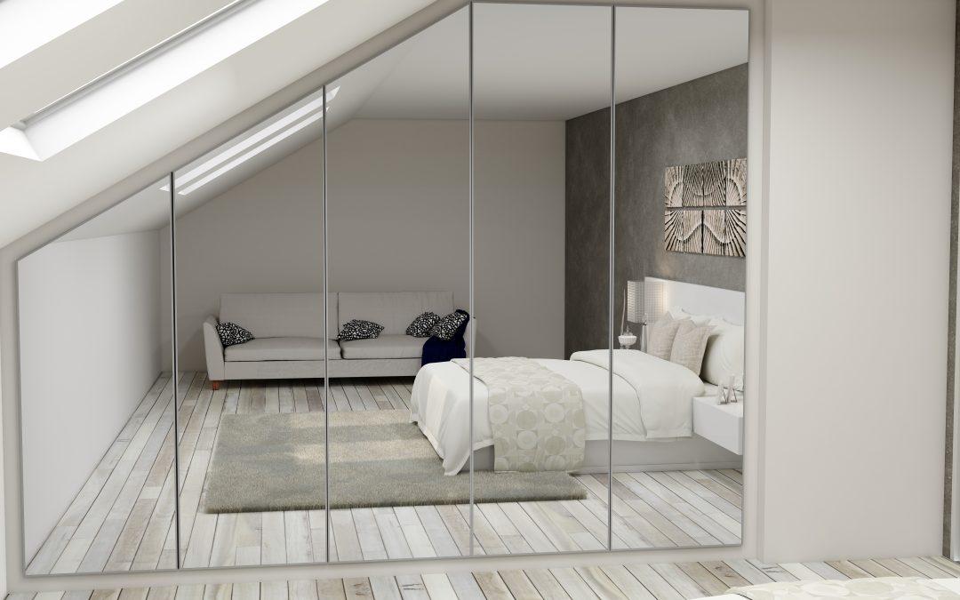 Loft Conversion Wardrobe Design Ideas for 2021