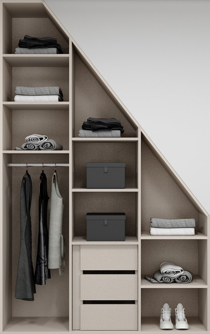 Loft Wardrobe Internals
