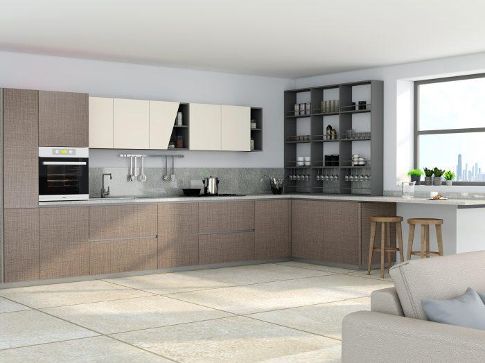https://www.inspiredelements.co.uk/wp-content/uploads/2021/05/Premiumline-kitchen-with-Aluminium-handleless-profile-in-Cannella-textured-Penelop-and-cream-matt-finish-2-700x524.jpg