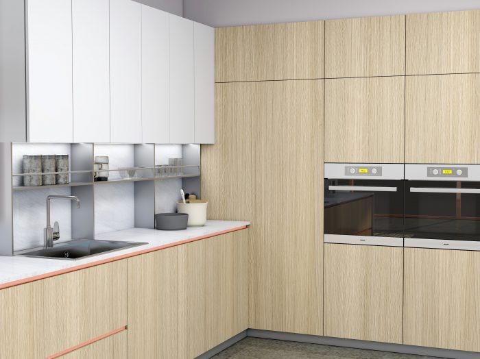 https://www.inspiredelements.co.uk/wp-content/uploads/2021/05/Premiumline-kitchen-with-Brass-handleless-profile-in-woodgrain-and-Alpine-white-finish-1-700x524.jpg