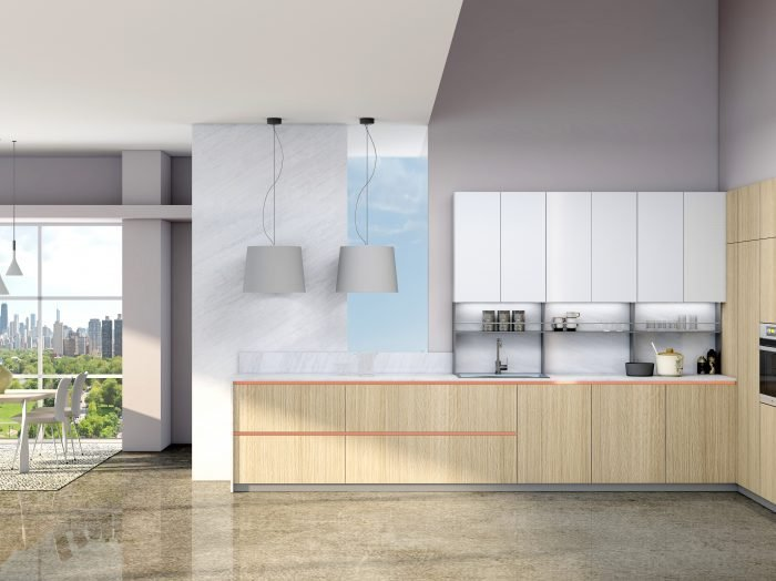 https://www.inspiredelements.co.uk/wp-content/uploads/2021/05/Premiumline-kitchen-with-Brass-handleless-profile-in-woodgrain-and-Alpine-white-finish-2-700x524.jpg