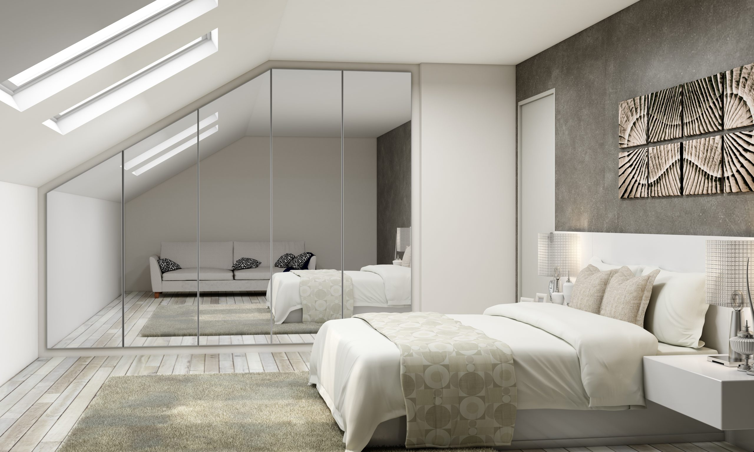 Wardrobe With Mirror Small Bedroom
