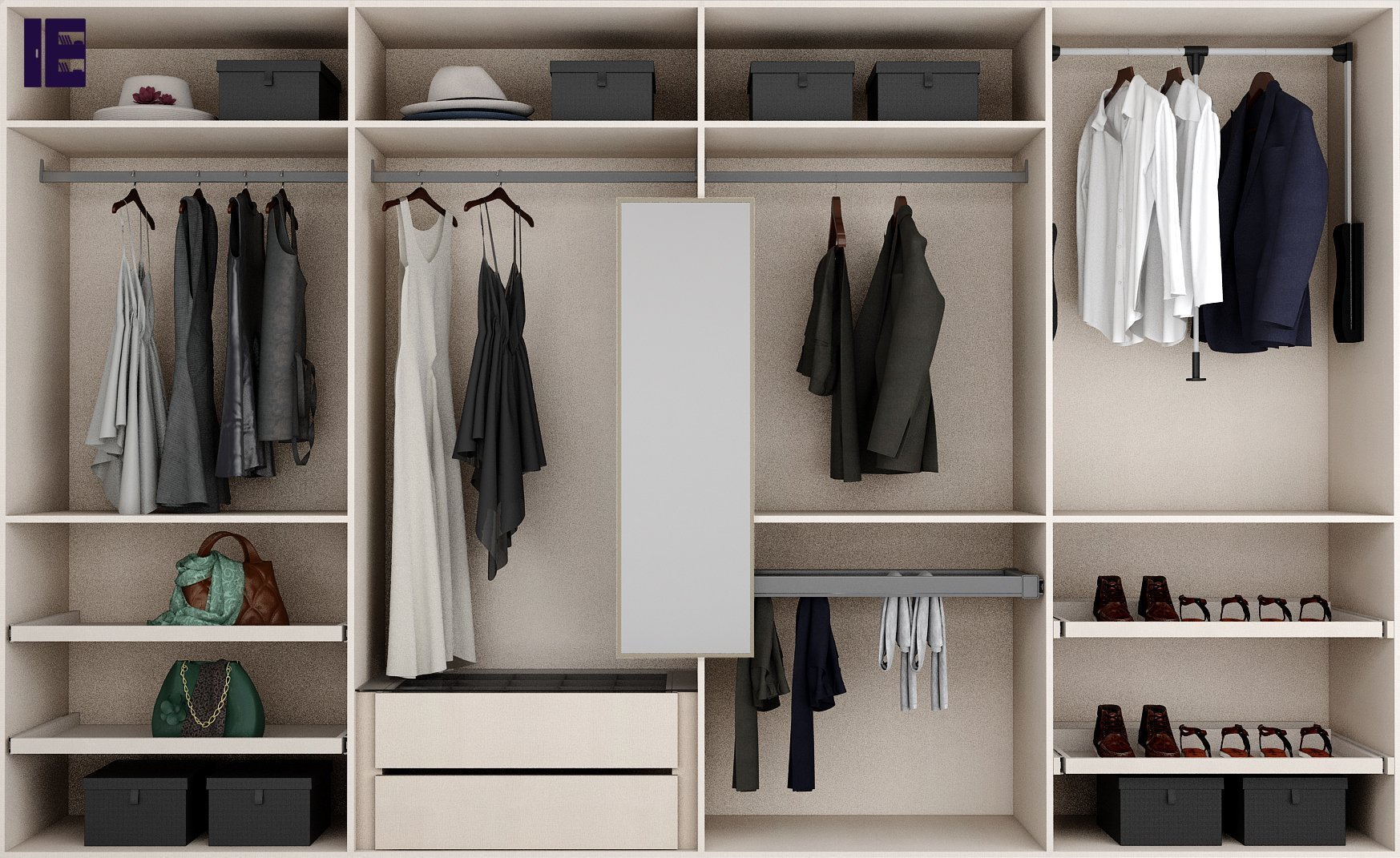 All Interiors Wardrobe Accessories