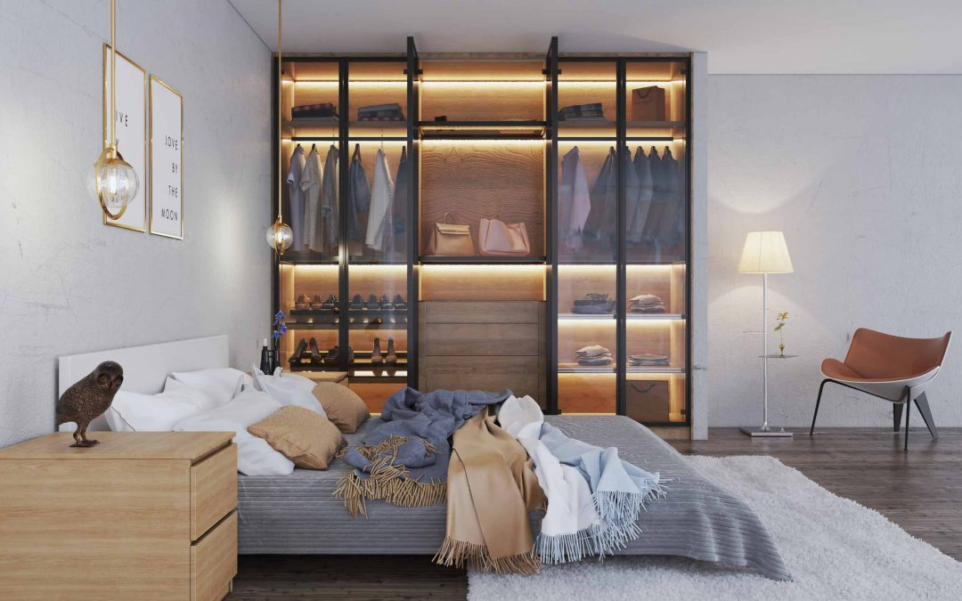 Linear Glass Hinged Wardrobes: Transforming Interiors Every Day!