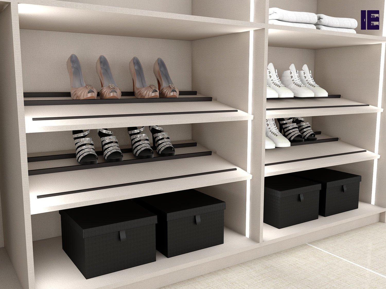 Shoe Rack Angle Wardrobe Accessories