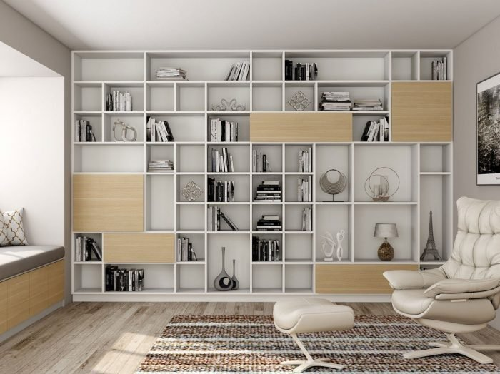 https://www.inspiredelements.co.uk/wp-content/uploads/2021/06/Book-shelving-for-Library-area-in-woodgrain-and-white-finish-1-700x524.jpg
