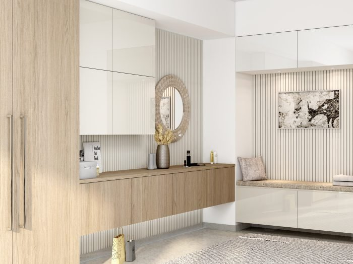 https://www.inspiredelements.co.uk/wp-content/uploads/2021/06/Dressing-table-with-floating-drawers-with-wardrobe-in-Verade-oak-light-and-white-gloss-finish-700x524.jpg