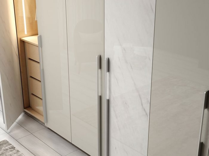 https://www.inspiredelements.co.uk/wp-content/uploads/2021/06/Fitted-Hinged-wardrobe-with-long-handle-in-light-grey-gloss-and-white-gloss-levanto-stone-finish-2-1-700x524.jpg