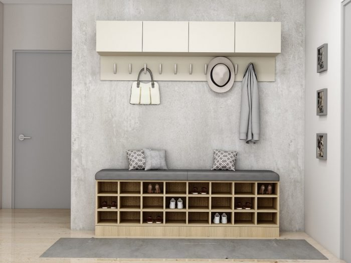 https://www.inspiredelements.co.uk/wp-content/uploads/2021/06/Hallway-cabinets-in-light-grey-and-wooden-with-sitting-cushion-area-and-coat-hanger-1-700x524.jpg