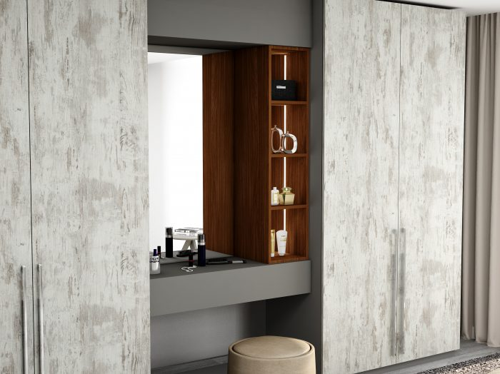 https://www.inspiredelements.co.uk/wp-content/uploads/2021/06/Hinged-Wardrobe-with-Dresser-Unit-Storage-in-combination-of-Cleaf-Matrix-Dust-Grey-and-Lincoln-Walnut-1-700x524.jpg