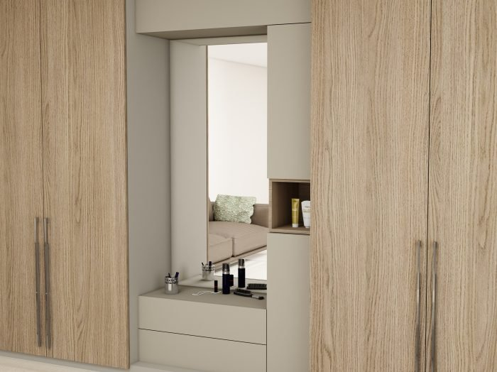 https://www.inspiredelements.co.uk/wp-content/uploads/2021/06/Hinged-Wardrobe-with-Dresser-Unit-Storage-in-combination-of-Grey-Vicenza-Oak-and-Aluminium-1-700x524.jpg