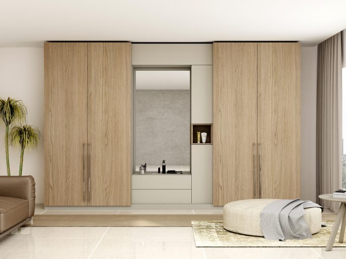 https://www.inspiredelements.co.uk/wp-content/uploads/2021/06/Hinged-Wardrobe-with-Dresser-Unit-Storage-in-combination-of-Grey-Vicenza-Oak-and-Aluminium-700x524.jpg