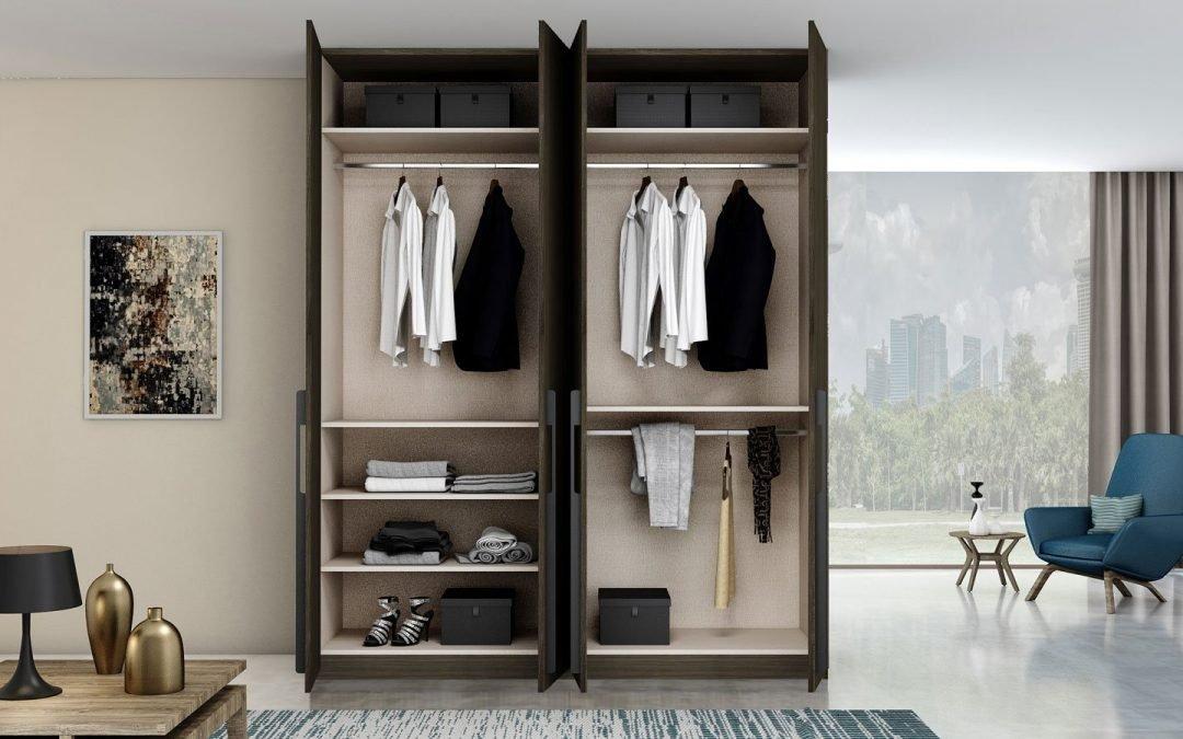 Storage Solution 101: Wardrobe, Kitchen, & Living