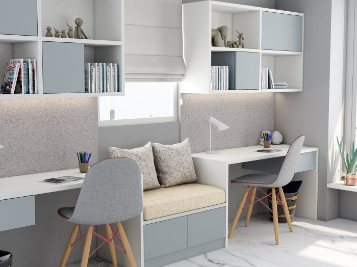 https://www.inspiredelements.co.uk/wp-content/uploads/2021/06/Study-office-finished-in-Light-grey-and-Alpine-White-with-a-cushion-seating-in-centre-2-700x524.jpg
