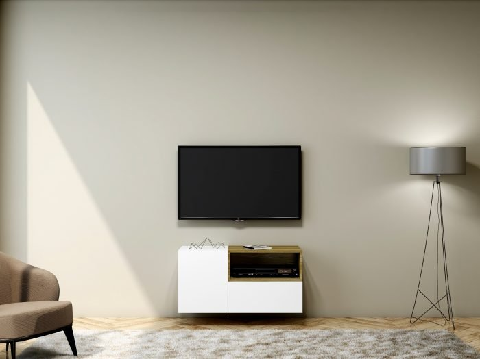 https://www.inspiredelements.co.uk/wp-content/uploads/2021/06/TV-unit-with-Storage-in-Base-unit-Drawer-in-Alpine-White-finish-and-Open-Box-Lancaster-Oak-2-700x524.jpg