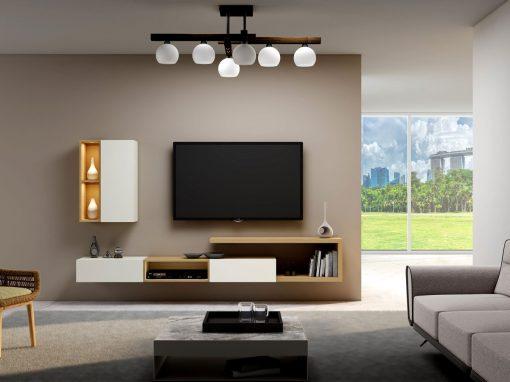 White Colour TV Units