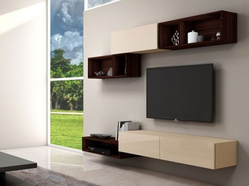 High Gloss TV Units with Storage