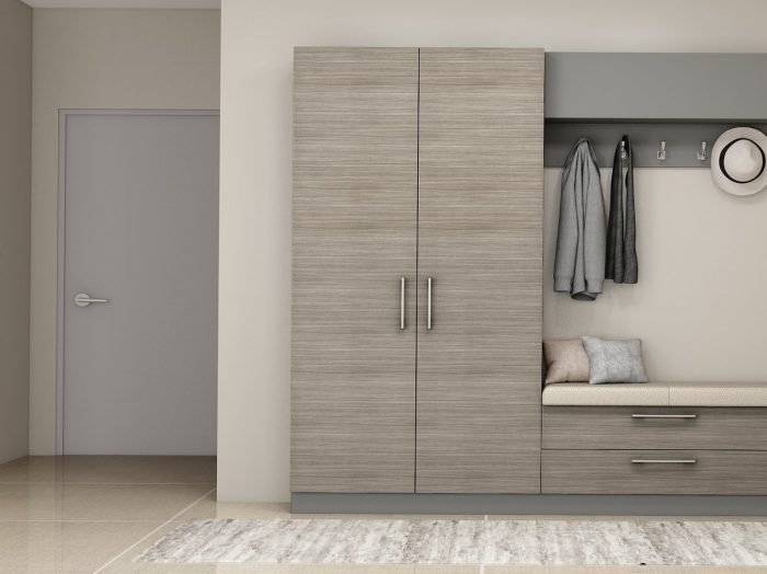 https://www.inspiredelements.co.uk/wp-content/uploads/2021/07/Hallway-storage-units-with-coat-hanger-in-woodgrain-and-dust-grey-finish-1-700x524.jpg
