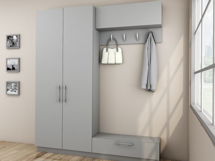 https://www.inspiredelements.co.uk/wp-content/uploads/2021/07/Hallway-unit-with-Storage-and-hangers-finished-in-Slver-Grey-2-700x524.jpg