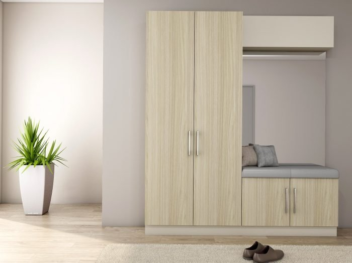 https://www.inspiredelements.co.uk/wp-content/uploads/2021/07/Hallway-unit-with-storage-and-cushion-seating-in-African-Walnut-and-light-grey-finish-with-a-mirror-2-1-700x524.jpg