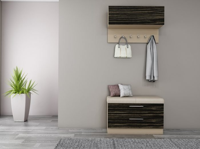 https://www.inspiredelements.co.uk/wp-content/uploads/2021/07/Hallway-unit-with-storage-hangings-with-a-cushion-seating-finished-in-Pebble-Grey-and-Amazonas-2-700x524.jpg